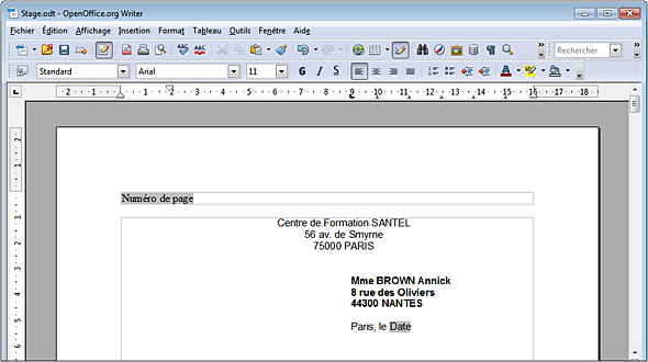 Writer 3 3 Le Traitement De Texte De Openoffice Org Et Libreoffice