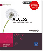 Access versions 2019 et Office 365