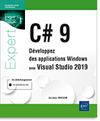C# 9 Développez des applications Windows avec Visual Studio 2019