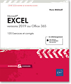 Excel versions 2019 ou Office 365