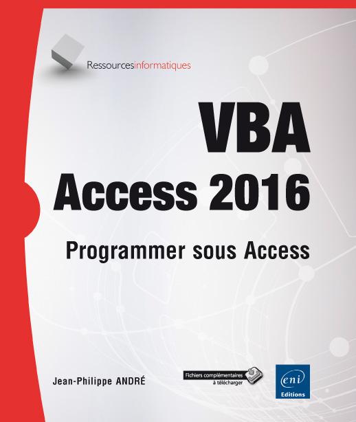 couverture du livre VBA Access 2016