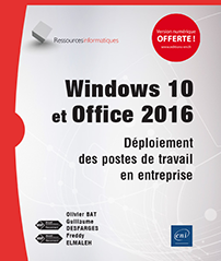 Windows 10 et Office 2016